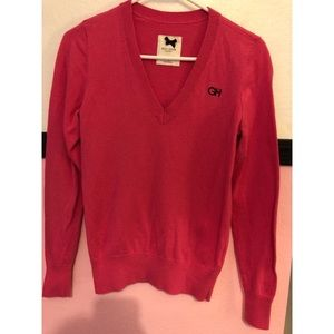 Gilly Hicks pink sweater